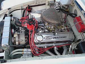 Mantell Motorsport specializes in Ford based MGB V8 engine conversions