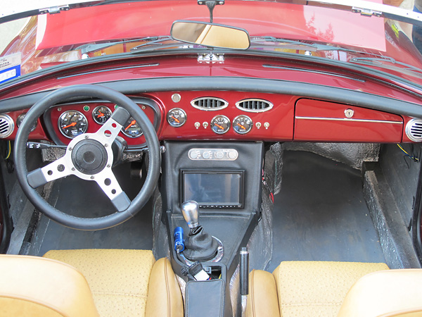 rob ficalora s 1976 mgb with ford 5 0l v8 engine rh britishv8 org 1977 MGB Fuse Box 1978 MGB Dashboard Wiring