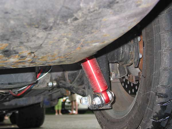 Stevecarrick M on Rear Four Link Suspension Setup