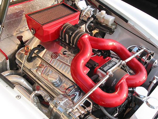 Steve Ward's LT1 powered MGB