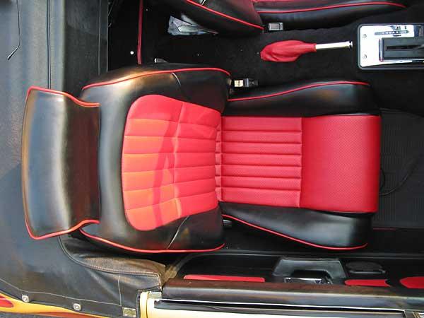 1980 chevrolet camaro z28. Chevy Camaro Z28 seats.