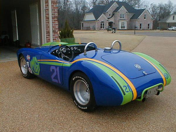 Steve Wayne S Widened 1961 Mga With Ford 302 V8 Engine