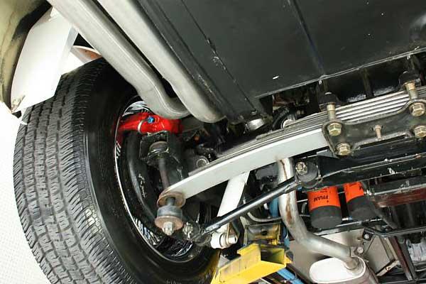Thomasross Cf on Camaro Rear Suspension