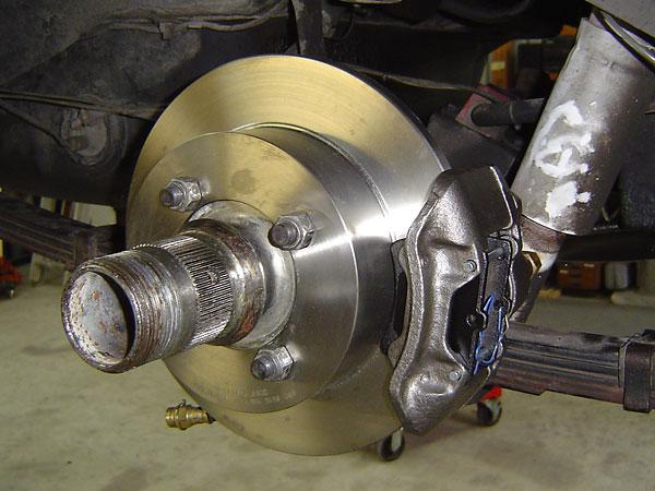 1994-98 Hyundai Sonata rear disc brake rotor. 1988-93 Ford Festiva front
