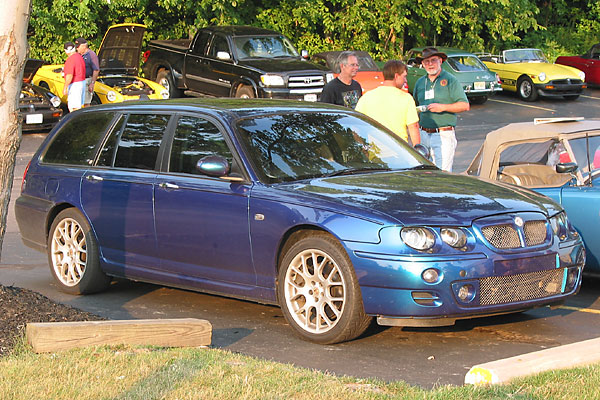 Philip Cooke's 2006 MG ZT-T 260 V8 (with Ford 4.6L V8 engine)