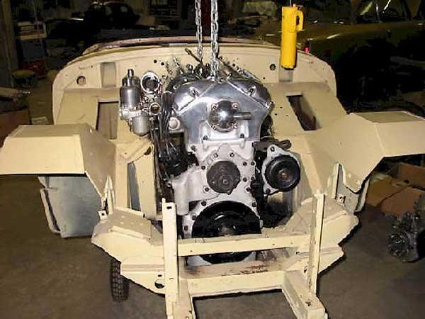 Aaron Couper S Jaguar Powered 1961 Austin Healey Sprite