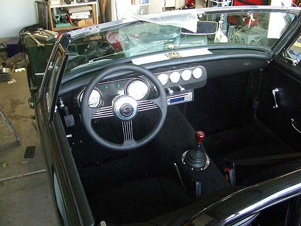 custom Sprite dashboard