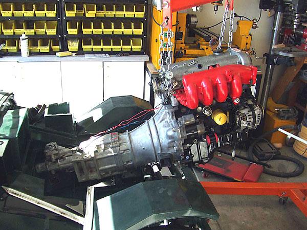 Mazda Miata five speed transmission