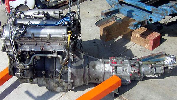 Mazda Miata engine 1600cc