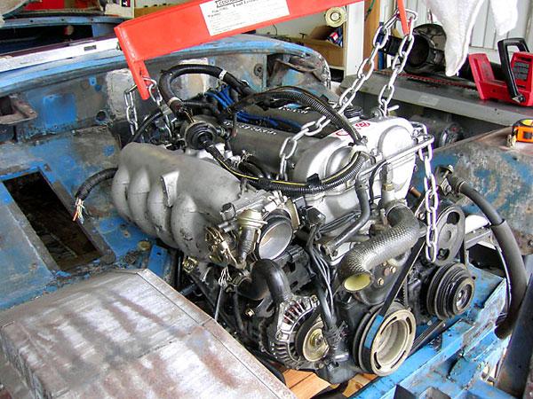 Bob Chartier s turbocharged Mazda powered 1965 Austin