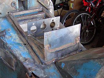 brake master cylinder mounting