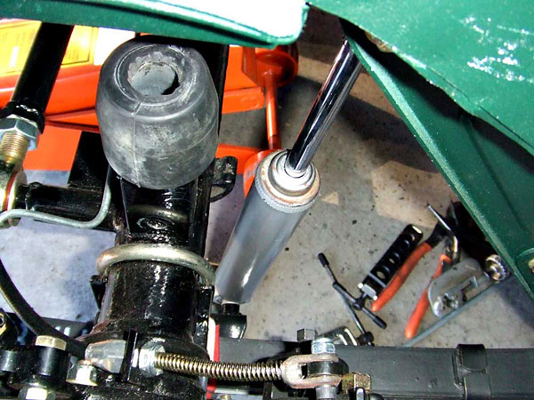 bump stop and tube shock absorber