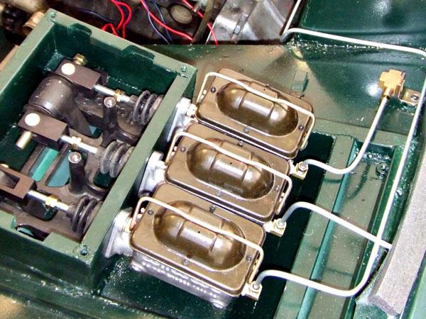 Wilwood 3 master cylinder system