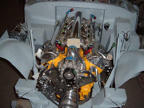Martin Jansen S Austin Healey 100 With Jaguar V12 Engine