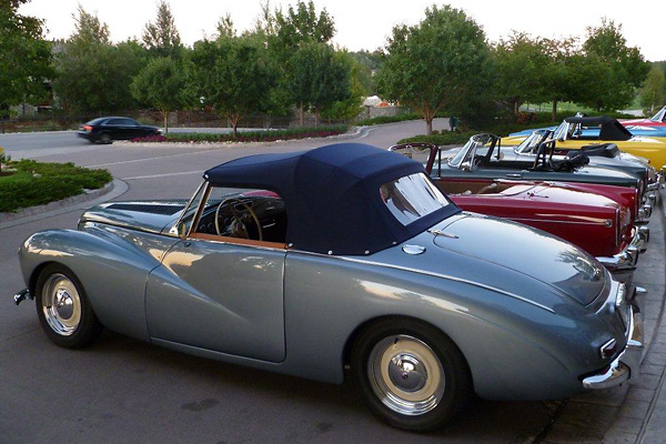 Resto Mod Mike Fuchs 1953 Sunbeam Talbot Alpine With