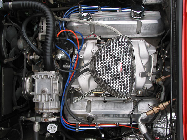 Mike Lawrence S Chrysler Powered 1972 Jensen Interceptor Iii