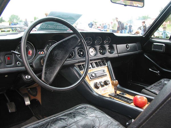 Mike Lawrence S Chrysler Powered 1972 Jensen Interceptor Iii