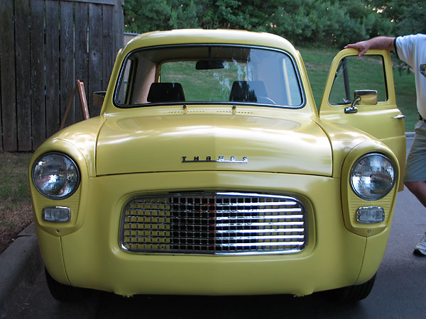 Mike Pugh S 1959 Ford Thames Anglia Panel Truck With Bmw