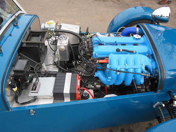 Skip Cannon's 2004 Caterham Seven SV with Mazda 1 8L Turbo Engine