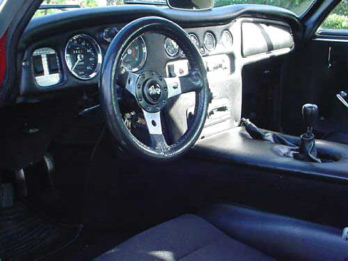 1971 TVR 2500 with Ford 302 EFI V8 Engine