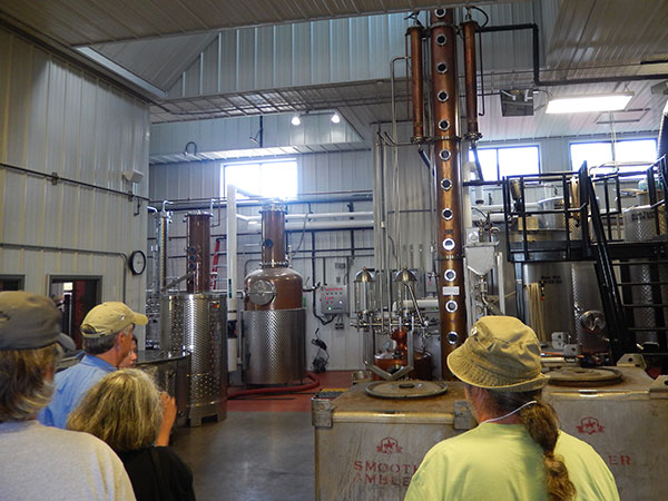 British V8 2017 Participants Visit Smooth Ambler Distillery