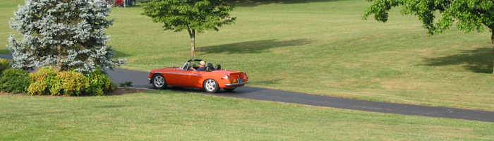 1974 MGB V6 with 3.4L V6 Crate Motor (owner: Bill Guzman), photo: Greg Myer, copyright 2006 / all rights reserved.