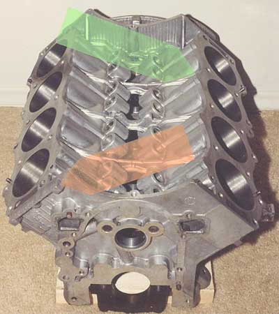 Buick 215cid Aluminum V8 Engine Block