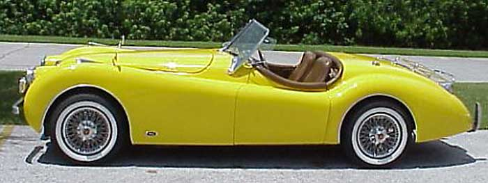 1952 Jaguar XK120 Replica, custom built for Kit Car Magazine, Chevy350, automatic