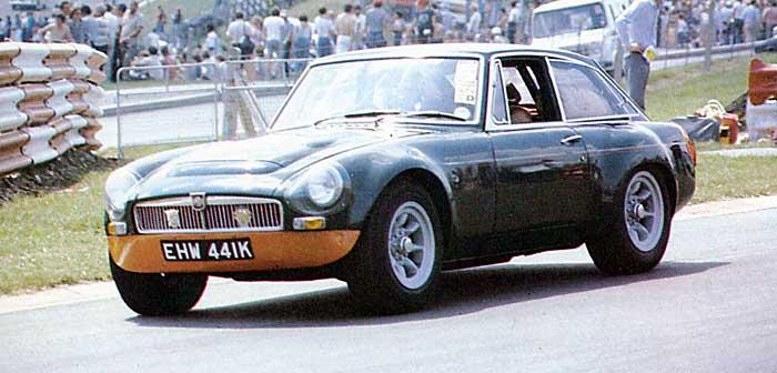 MGC-GTS at Sebring 1968