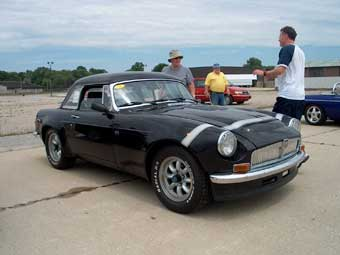 Peter Smith's MGB / Rover 3.5 V8