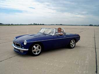 Mikel Moor's MGB / Buick 300 V8
