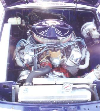 Dale Spooner's '77 MGB with Ford 302 V8