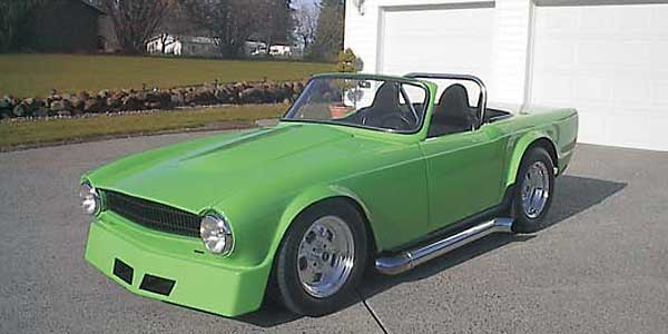 Bruce Wood S 1969 Triumph Tr6 With 406 Cubic Inch Chevy V8