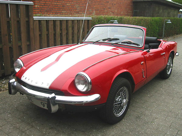 Carsten Ullerup's Triumph Spitfire with Rover V8 Engine