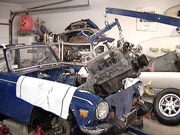 Don Watson S 1974 Tr 6 With 1992 Ford 5 0 H O V8 Engine