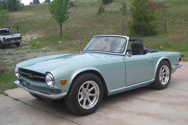 George Smathers' 1971 Triumph TR6 / Ford 302 V8 Conversion