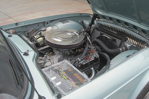 George Smathers 1971 Triumph Tr6 Ford 302 V8 Conversion