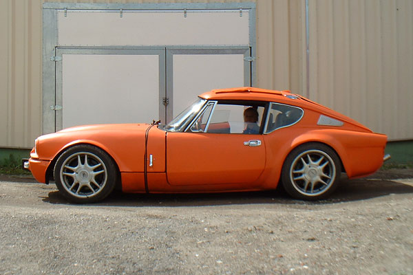 Gerald Kannenbergs 1972 Triumph Gt6 With Ford Cosworth V6 Engine