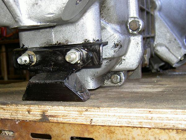 Graham Binghams Spitfire Rover 35l V8 Engine Conversion