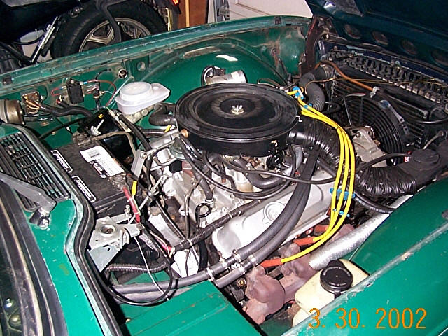 Hank Kingon U0026 39 S 1974 Tr6  With A Buick 3 8 V6