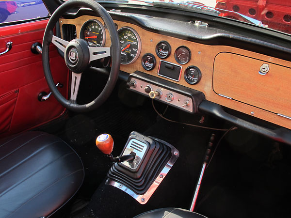 Window Stickers For Cars >> Jay Smith's 1963 TR4, with a Ford 5.0L V8