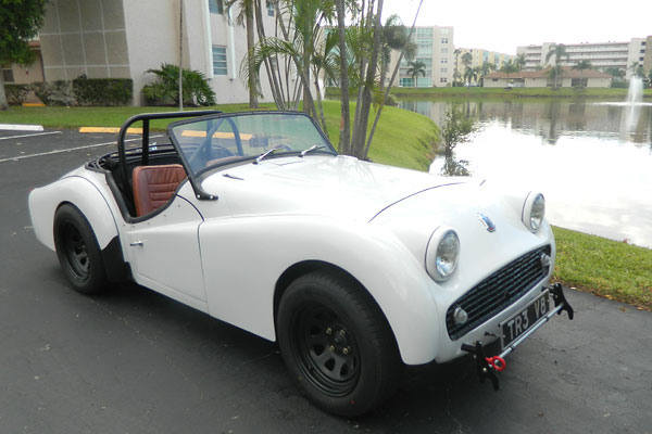 Joseph Motickers 1960 Triumph Tr3 With 1988 Ford Mustang 302 Engine
