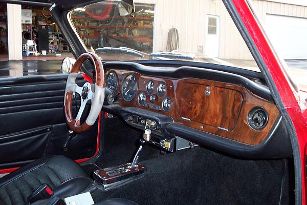 Ken Schmidt S 1969 Tr6 With Chevrolet 350 V8
