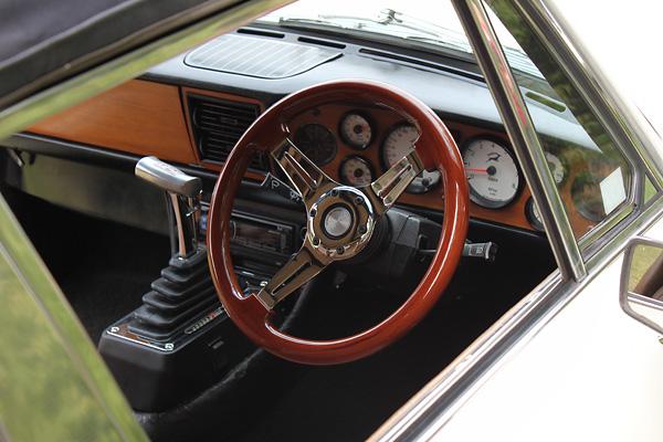 Kingsley Dunstan's 1977 Triumph Stag / Chevrolet LS1 5 7L V8
