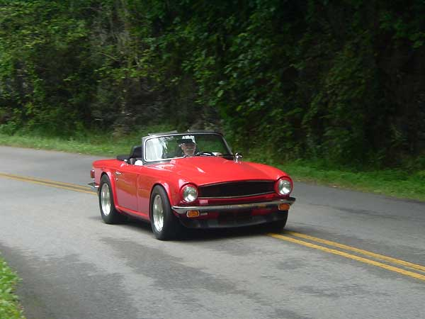 Ted Lathrops 1976 TR6 is Powered by a Chevy 350 V8