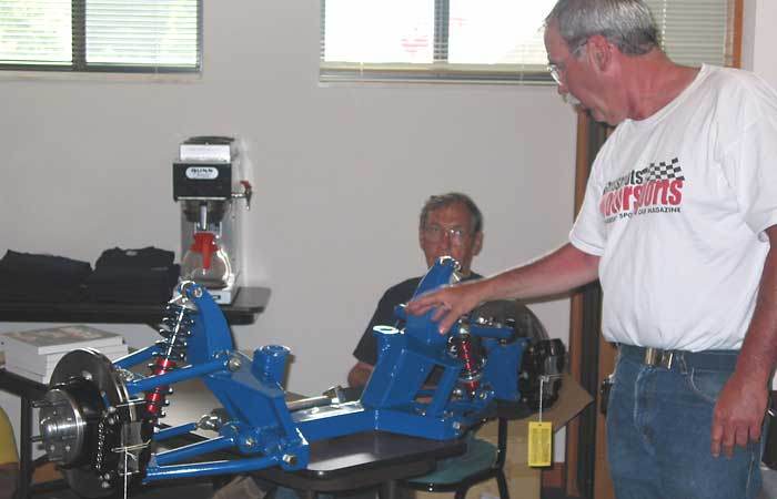 Mgb Front Suspension Upgrade Tech Session By Ted Lathrop