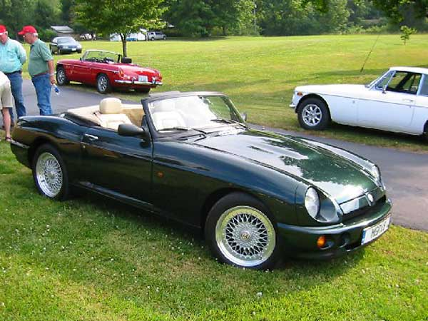 rare  scott miller u0026 39 s lhd mg rv8  by greg myer    british v8