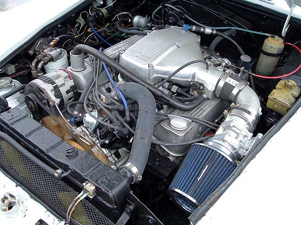 How Glen Towery Installs Rover Efi On Mgb V8 Conversions