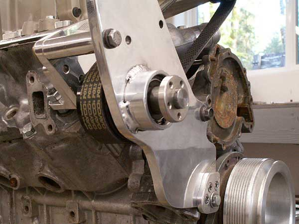 """bolt-on"""" ZZ Performance pulleys for drive ratio changes, if desired"""