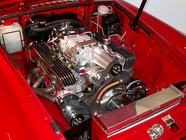 How To Under Hood Eaton M90 Supercharger On An Mgb With A